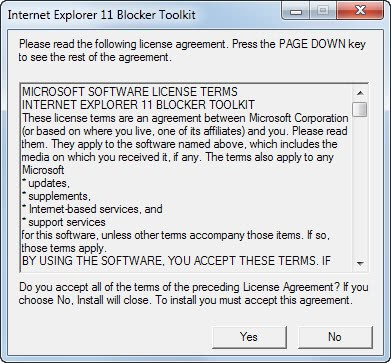 microsoft releases internet explorer 11 toolkit to block automatic deployment on windows 7. Black Bedroom Furniture Sets. Home Design Ideas