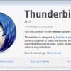 mozilla thunderbird 24.1