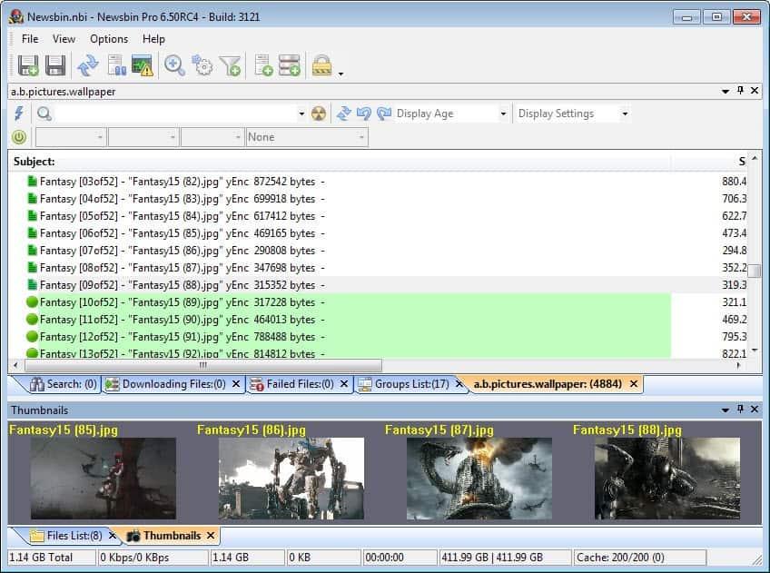 Newsbin Pro 6.50 Review - gHacks Tech News
