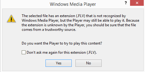 windows media player playback error