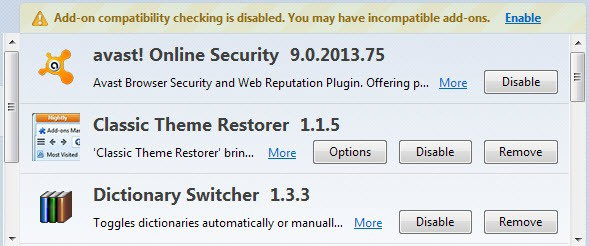 avast online security uninstall