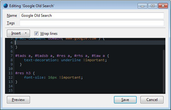 google-old-search