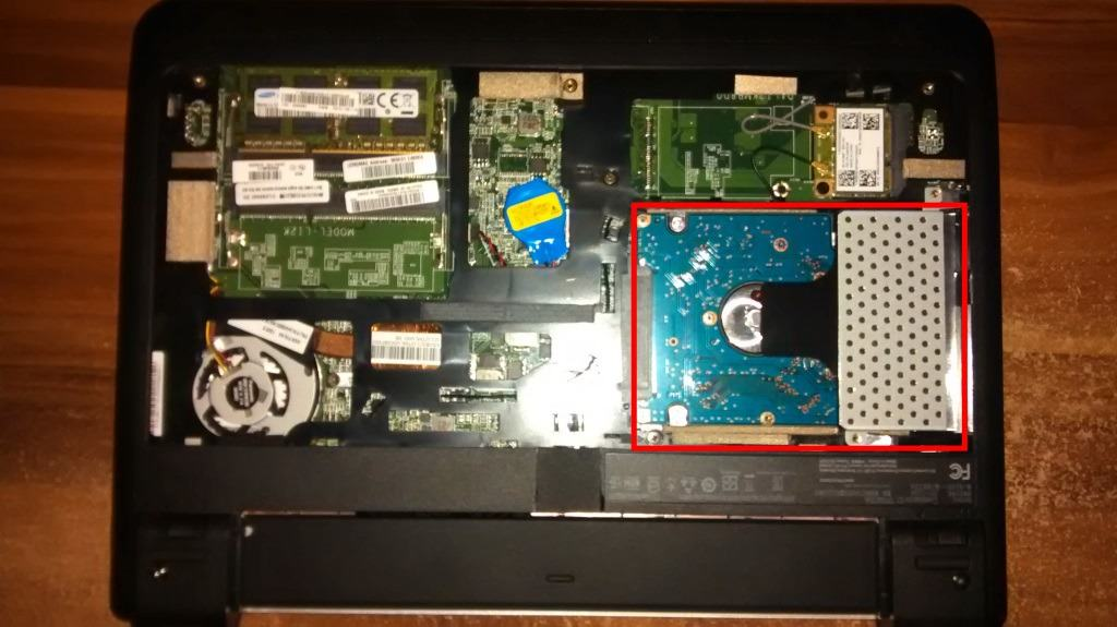 internal laptop hard drive