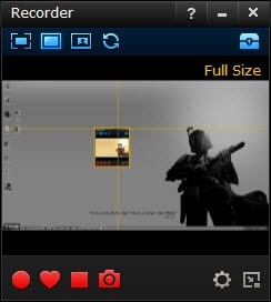 Smartpixel recorder