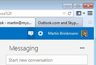 skype messaging outlook