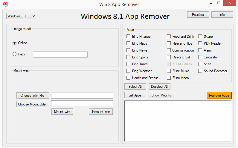 windows 8 app remover