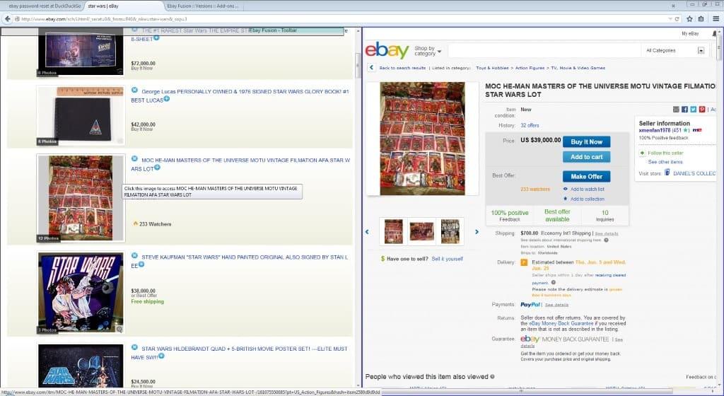 ebay fusion