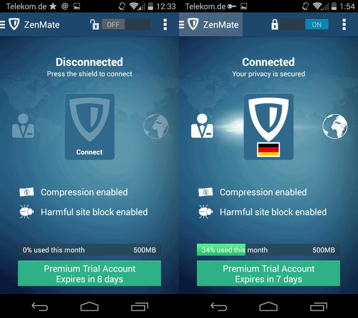 zenmate app android