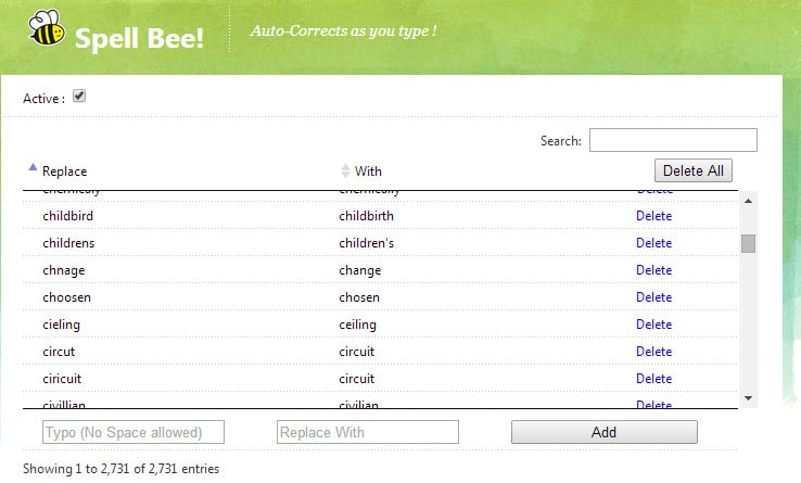 Spell Bee for Chrome Adds Auto Correction to the Browser ...