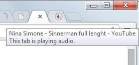 tab playing audio