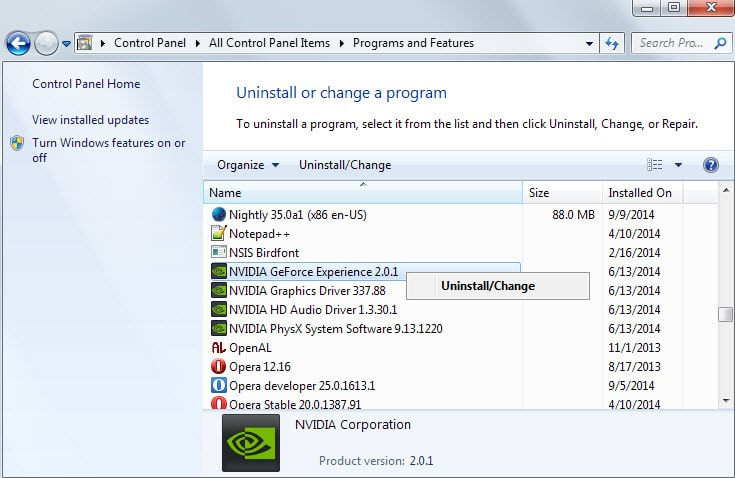 Nvidia Geforce Experience Delete Downloaded Drivers