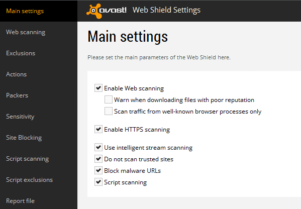 Avast S Https Scanning Interferes With Firefox And Other