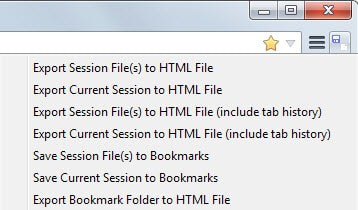 Export firefox sessions to the bookmarks or html files ghacks tech