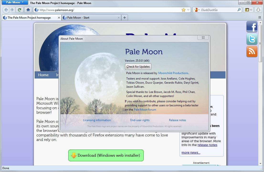 pale moon 25