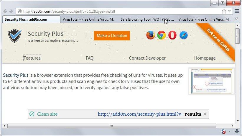 check links virustotal