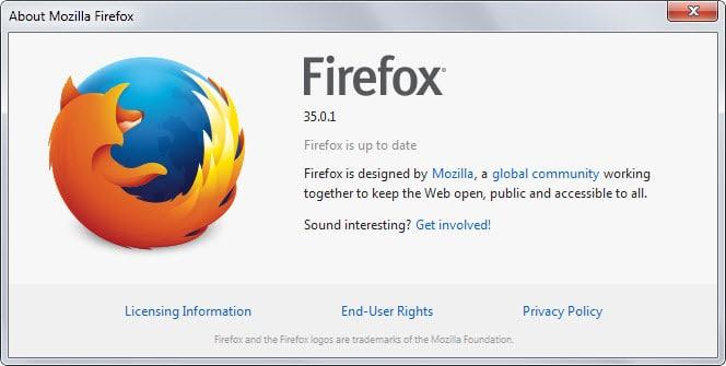 update firefox plugin