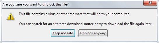 firefox unblock file