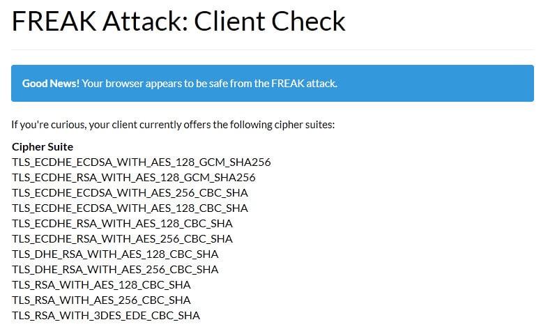 freak attack vulnerability