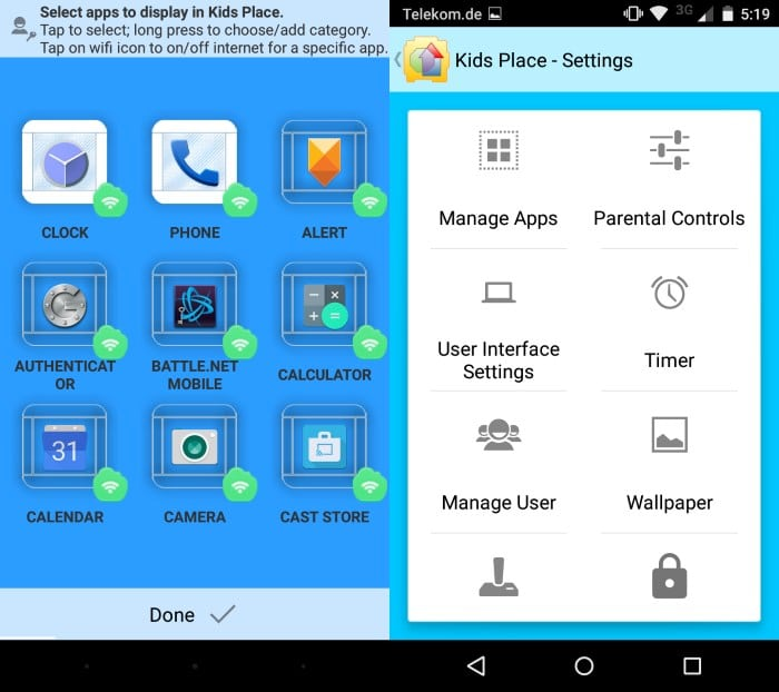 Kids Place Is A Free Parental Control Application For