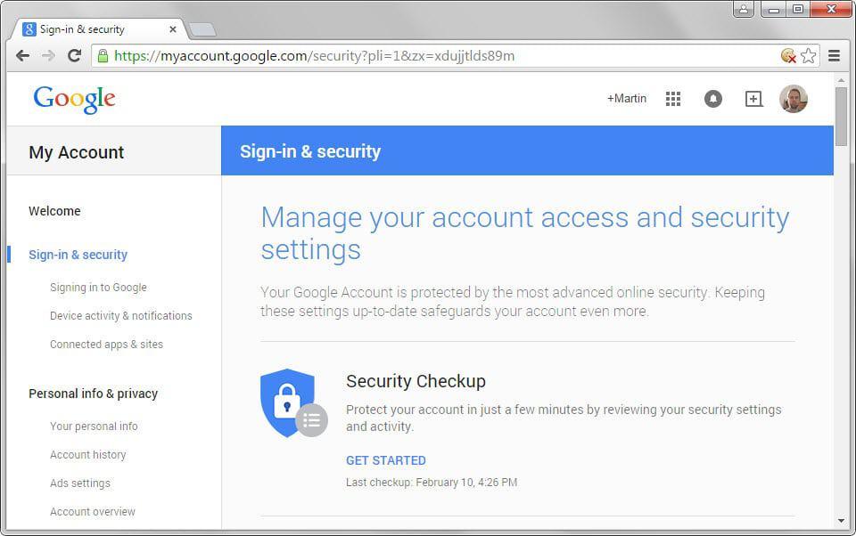 Google ruller ut nye kontoadministrasjon xcomputer Google sites sign in