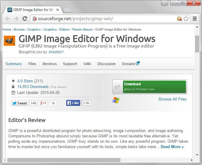 gimp clean download