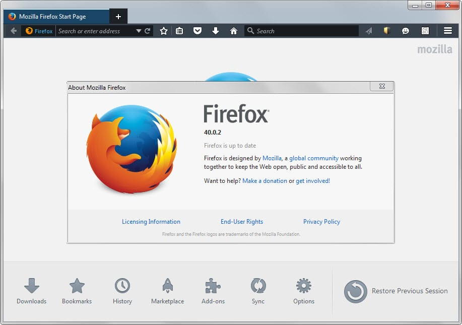 Mozilla releases Firefox 40.0.2 update to fix issues in the browser - gHacks Tech News