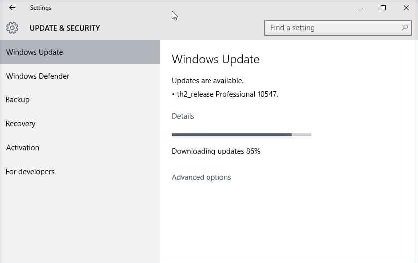 windows 10 10547