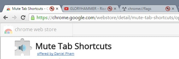 chrome mute all tabs