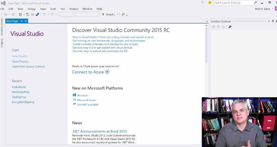 windows apps development course