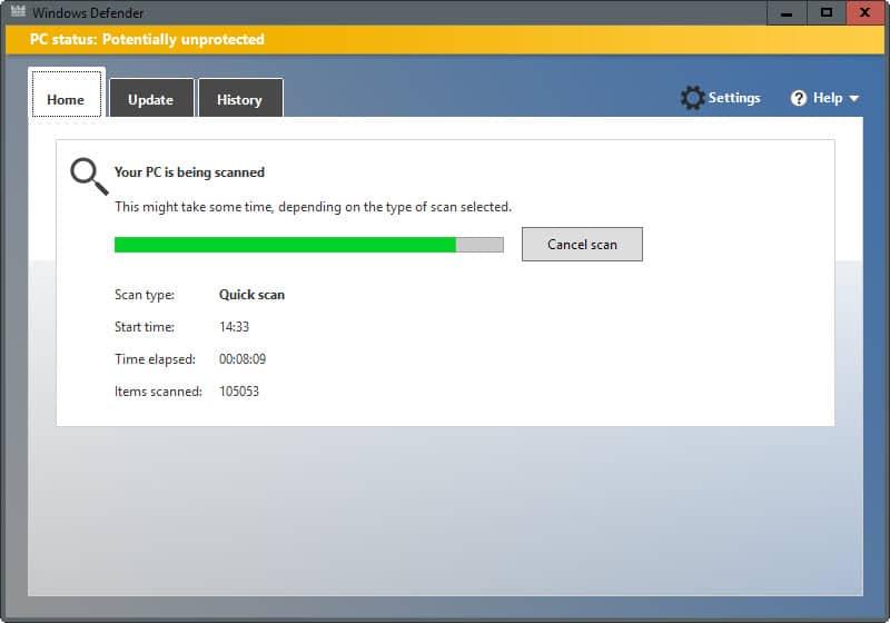 Windows defender latest definition updates for New windows software