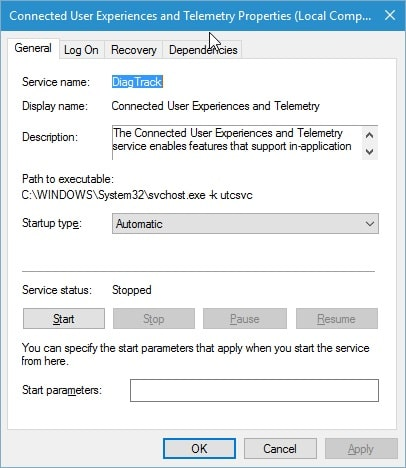 connected user experiences and telemetry 2