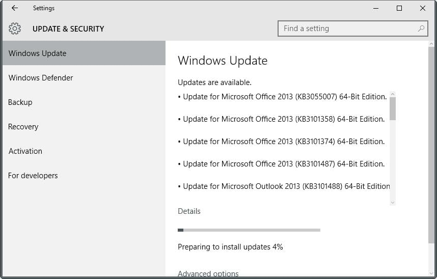 microsoft security bulletins updates november 2015