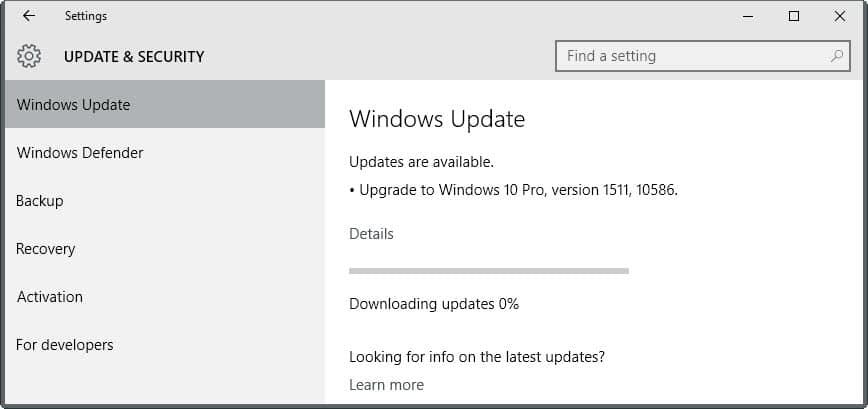 Скачать windows 10 10586 с microsoft