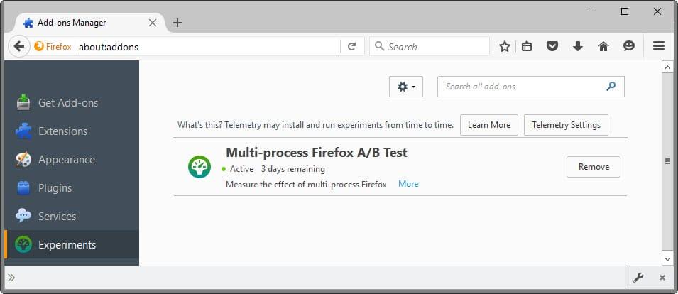 firefox multi-process test