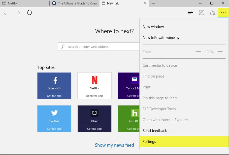 how to delete past windows selectionn when bootup