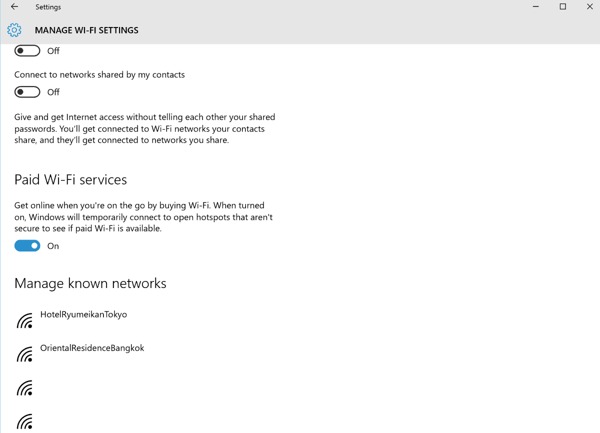 windows 10 trådløs netværk
