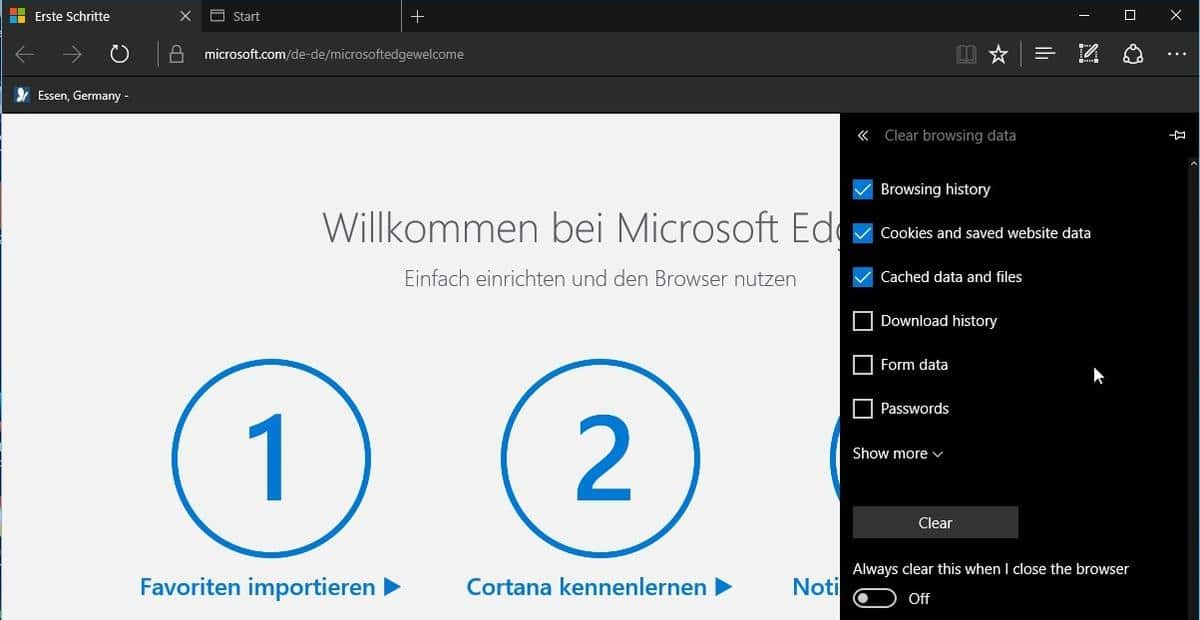 Workaround for Windows 10 Build 14267 Power Bug