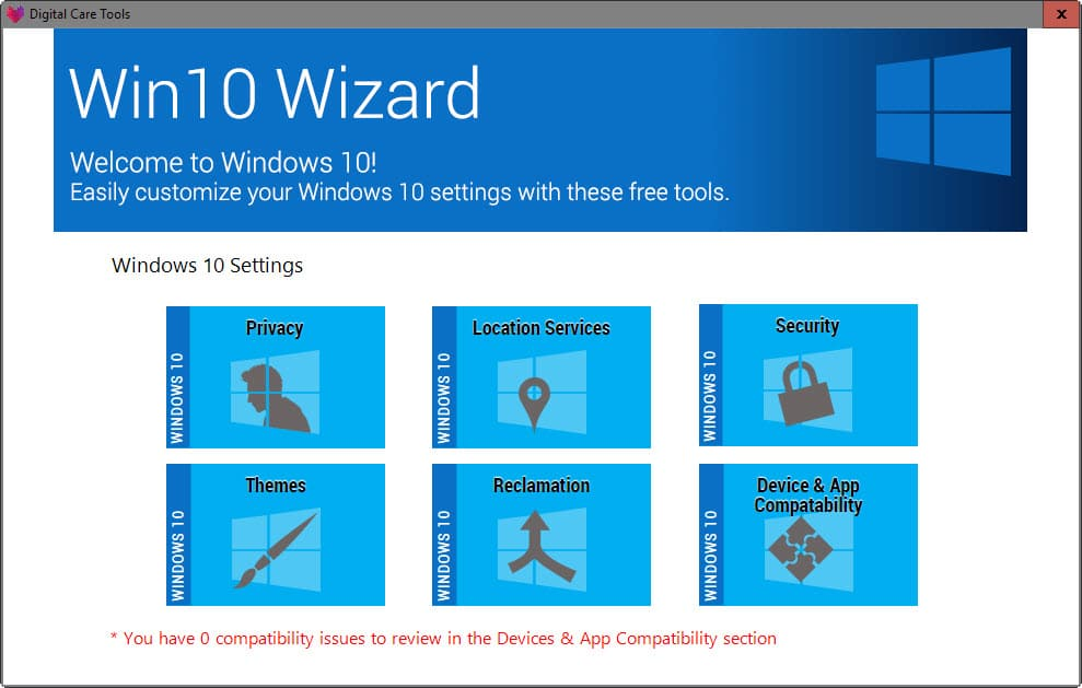 Win10 wizard is a windows 10 upgrade assistant ghacks for Microsoft win10