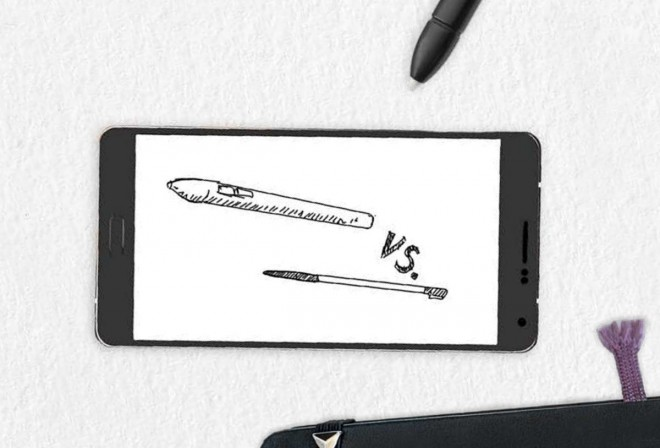Digital Pen and Smart Pen doodle (from the MS guide to modern note taking)