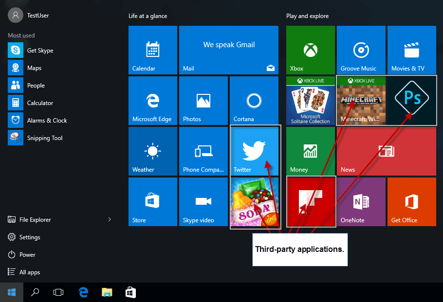 Turn off the Microsoft Consumer Experience on Windows 10