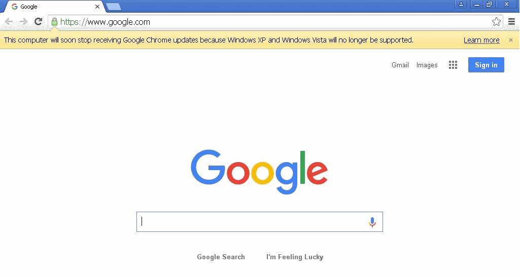 computer will soon stop receiving