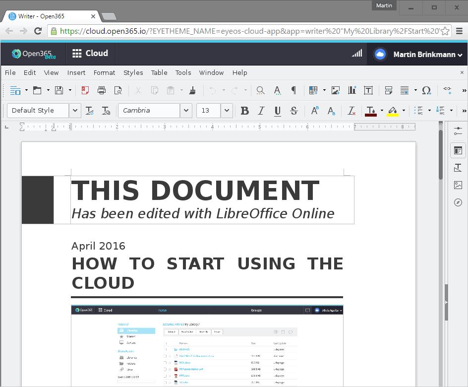 open365 documents