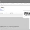 chrome backspace key