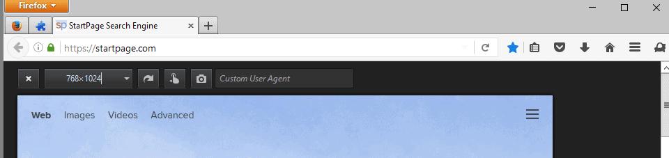custom user agent
