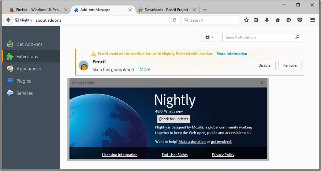 firefox unbranded build