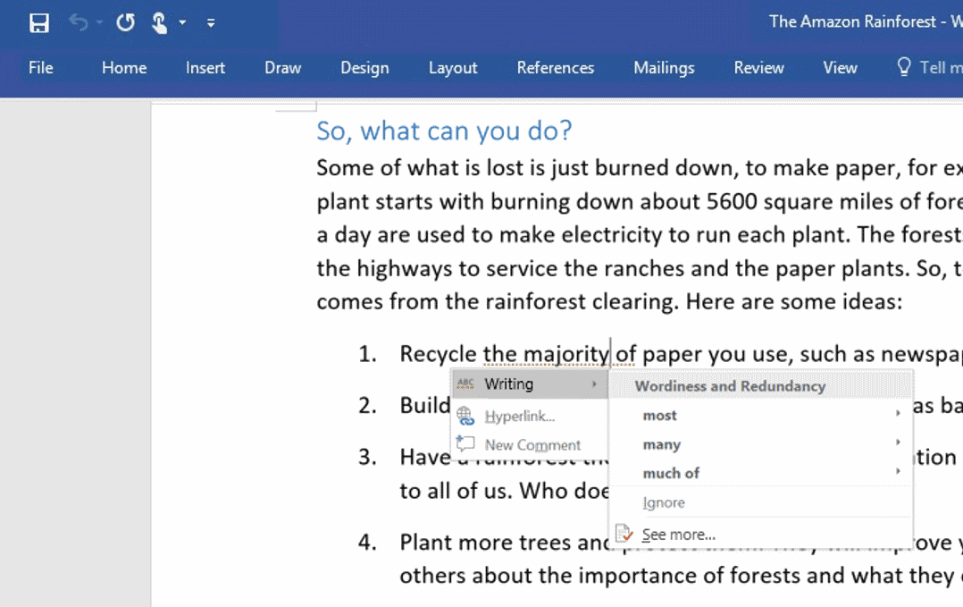 Microsoft makes Word smarter, Powerpoint interesting and intuitive and Outlook trendier