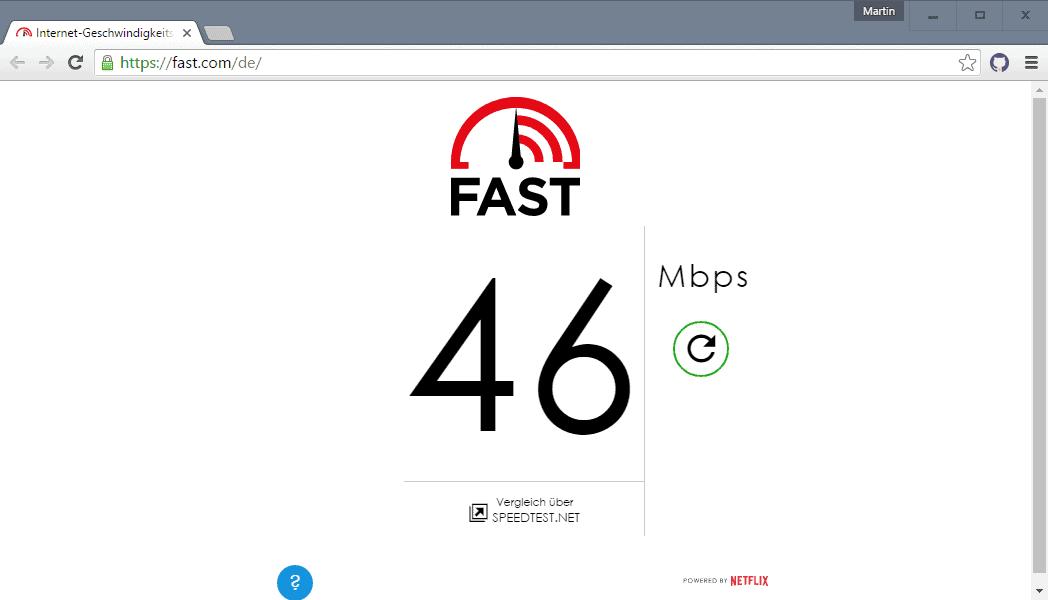 speed test html5
