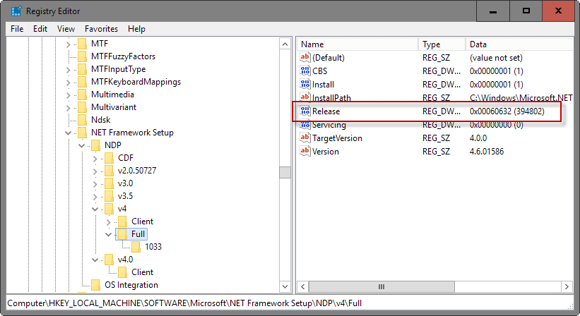 dot net version 2  for windows xp 32 bit