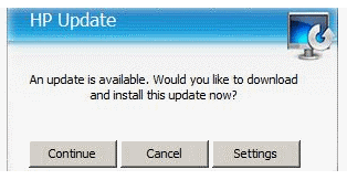 hp printer update