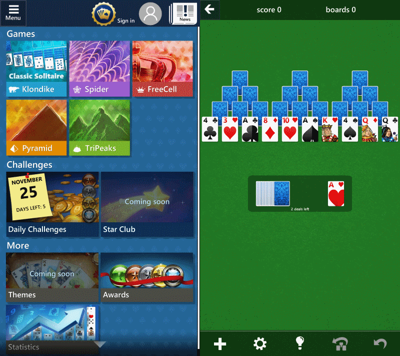 microsoft solitaire collection android free download